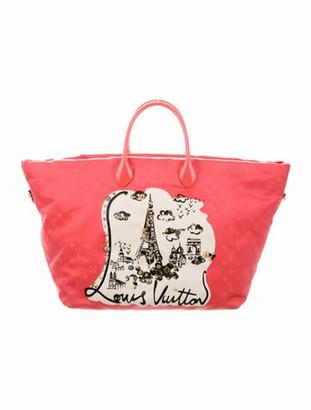 Louis Vuitton Monogram Nouvelle Vague Beach Bag Coral