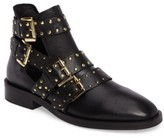 Topshop Women's Ark Studded Buckle Bootie