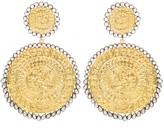 Opuline Disco Discs Earrings