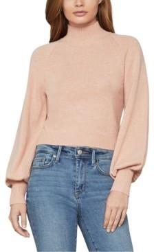 BCBGMAXAZRIA Cropped Bell-Sleeve Sweater