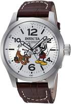 Invicta Men's 'Disney Limited Edition' Quartz Stainless Steel Casual Watch, Color: (Model: 22874)