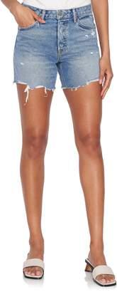 Jourdan Grlfrnd Denim Lo-Rise Tomboy Shorts