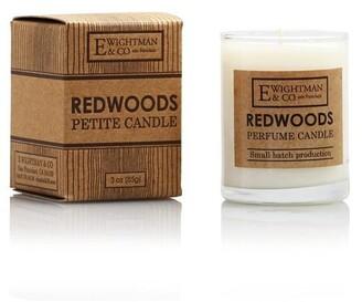 elizabeth W Petite Redwoods Candle
