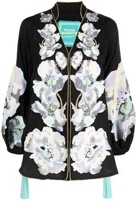 Yuliya Magdych Exstasy floral tunic top