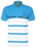 Hugo Boss Paule Pro Slim Fit, Moisture Manager Cotton Polo Shirt L Open Blue