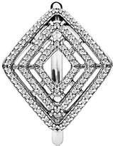 Pandora Ring 196210CZ-54 Silver Zircon Lines Geometric