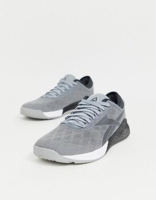 Reebok Training nano 9.0 sneakers in gray