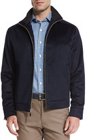 Peter Millar Westport Wool-Cashmere Jacket, Navy