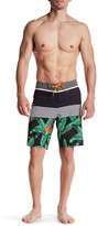 Quiksilver Striped Tropical Board Short
