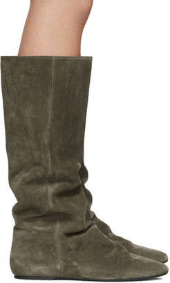 Isabel Marant Brown Suede Reona Boots