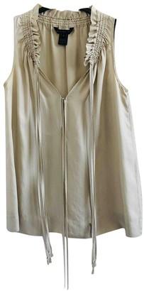 Marc by Marc Jacobs Beige Silk Top for Women