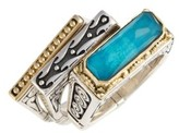Konstantino Women's 'Iliada' Stacking Doublet Rings (Set Of 3)