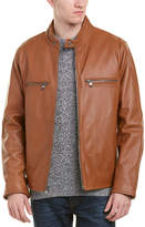 Andrew Marc Bedford Leather Coat