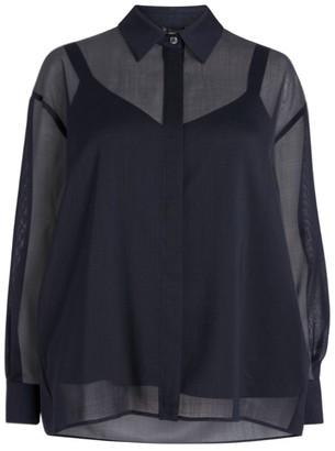 Marina Rinaldi Lurex Shirt