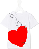 Burberry Love Hooked print T-shirt - kids - Cotton - 4 yrs