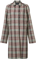 Derek Lam plaid midi coat - women - Virgin Wool - 36
