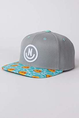Neff Men's Daily Smile Pattern Snapback Hats-Custom Adjustable