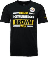 Nike Men's Roethlisberger/Brown 2016 Pittsburgh Steelers Election T-Shirt