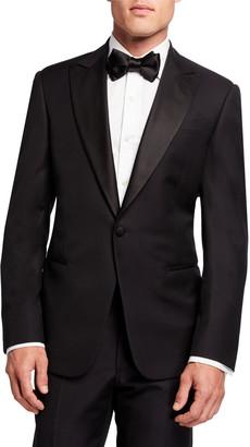 Giorgio Armani Men's Micro-Design Two-Piece Tuxedo