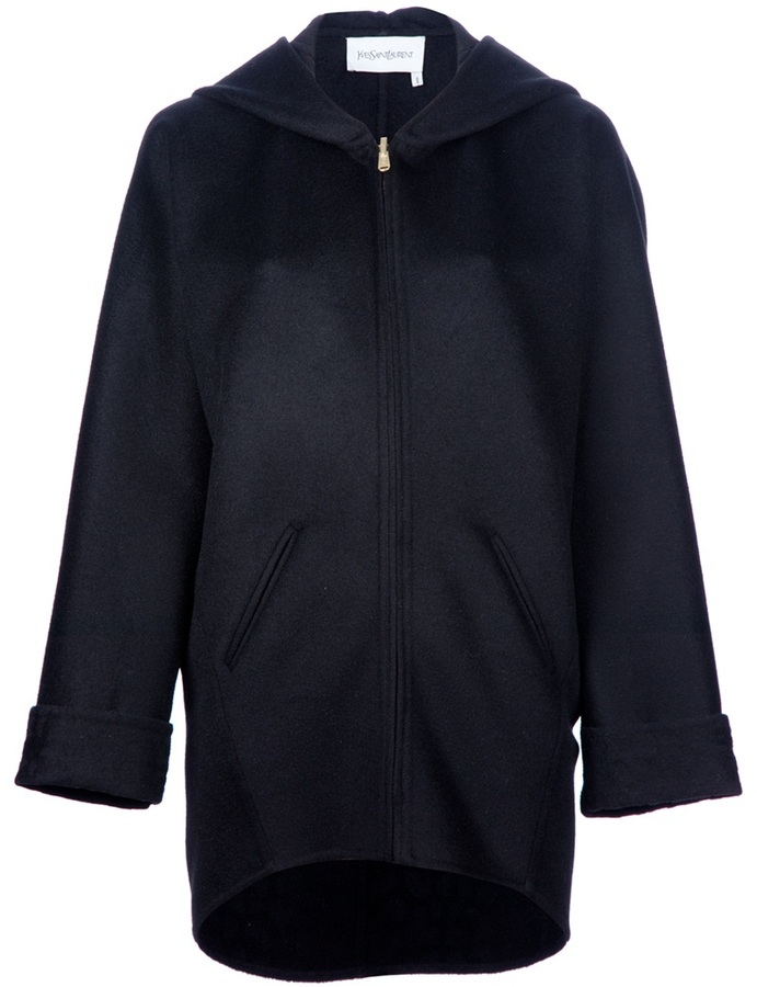 Yves Saint Laurent dropped hem jacket