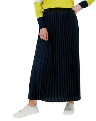 Marisota Sunray Pleated Maxi Skirt