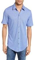 BOSS Men's Robb Sharp Fit Jersey Sport Shirt