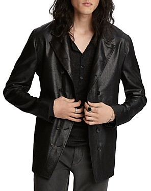 John Varvatos Collection Double-Breasted Button Front Slim Fit Jacket