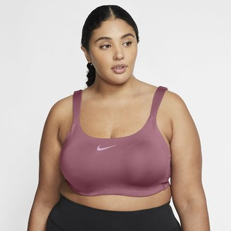 Nike Women's High-Support Underwire Sports Bra (Plus Size Bold