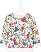 Stella McCartney floral print sweatshirt