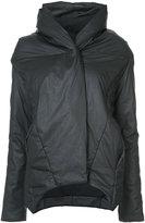 Barbara I Gongini asymmetric padded jacket