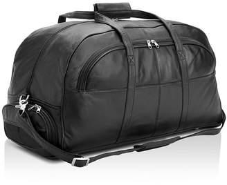 ROYCE New York Large Leather Duffel Bag