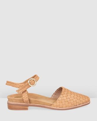 Bared Footwear - Women's Brown Flats - Euphonia Flat Sandals - Women's - Size One Size, 36 at The Iconic