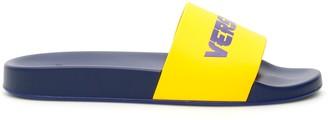 Versace Logo Contrast Slides