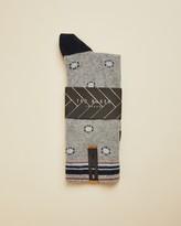 Ted Baker CRANS Geo print cotton socks