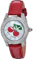 Betsey Johnson BJ00193-09 - Crystal Bezel Watches