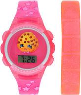 SHOPKINS Shopkins Girls Multicolor Strap Watch-Kin4014jc