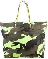Valentino Camouflage Rockstud Tote