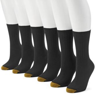 Gold Toe GOLDTOE 6-pk. Ribbed Crew Socks - Women