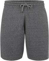 Topman Grey Salt And Pepper Jersey Shorts