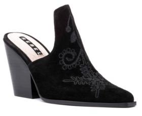 Rebel Wilson Chunky Heel Mules Women's Shoes