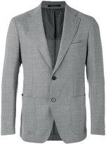Tagliatore single breasted blazer - men - Cupro/Virgin Wool - 46