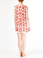 Vanessa Bruno athé by Red Embroidery Shift Dress