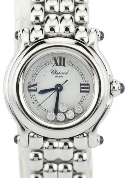 Chopard Happy Sport 27/8250-23 Mini Quartz Happy Diamonds Womens Watch