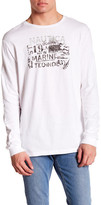 Nautica Long Sleeve Marine Tech Tee