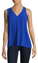 Vince Camuto Solid V-Neck Tank Top