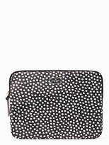 Kate Spade Blake avenue musical dots laptop sleeve