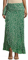 Ganni Foldover Midi Mesh Skirt