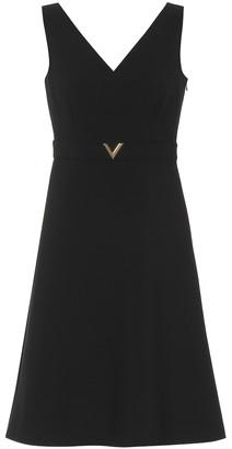 Valentino Stretch wool minidress