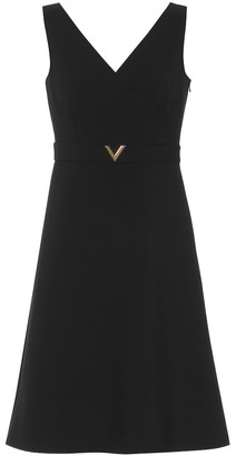 Valentino Stretch wool minidress