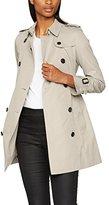 Burberry Women's Kensigton Mid EX Buckingham Coat,UK
